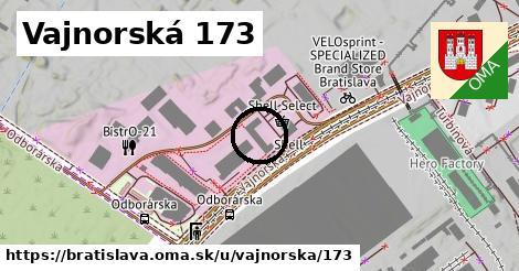 Vajnorská 173, Bratislava
