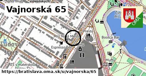 Vajnorská 65, Bratislava