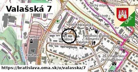 Valašská 7, Bratislava