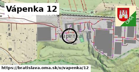 Vápenka 12, Bratislava