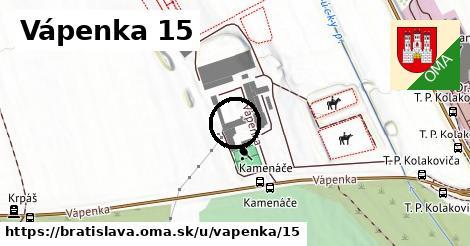 Vápenka 15, Bratislava