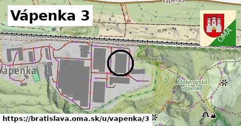 Vápenka 3, Bratislava