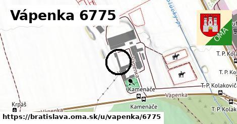 Vápenka 6775, Bratislava