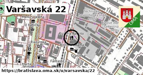 Varšavská 22, Bratislava