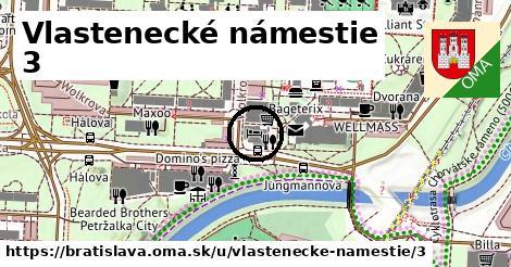 Vlastenecké námestie 3, Bratislava