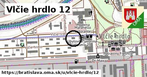 Vlčie hrdlo 12, Bratislava
