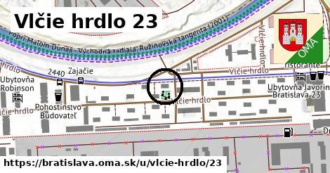 Vlčie hrdlo 23, Bratislava