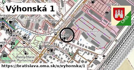Výhonská 1, Bratislava