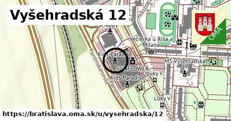 Vyšehradská 12, Bratislava