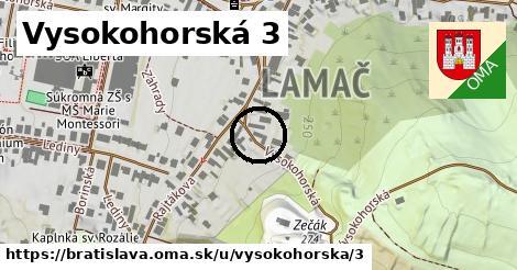 Vysokohorská 3, Bratislava