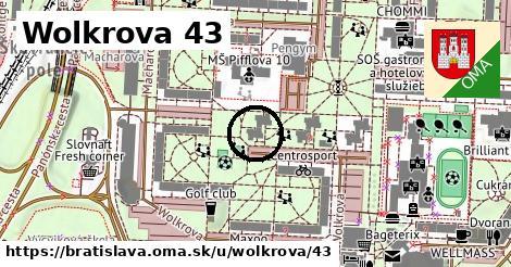 Wolkrova 43, Bratislava