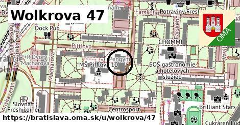 Wolkrova 47, Bratislava