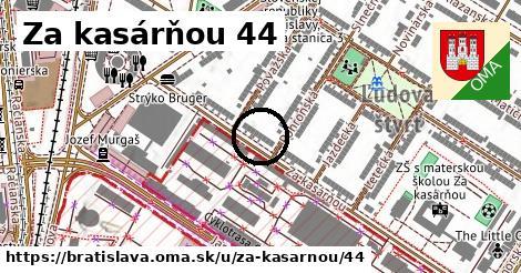 Za kasárňou 44, Bratislava