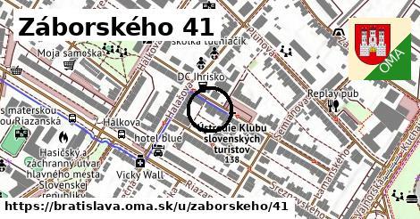 Záborského 41, Bratislava