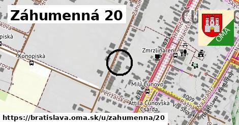 Záhumenná 20, Bratislava