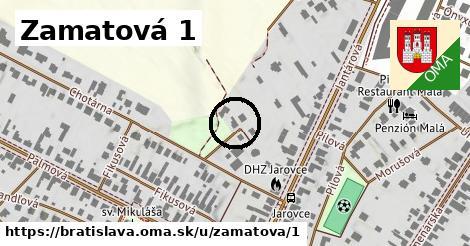 Zamatová 1, Bratislava