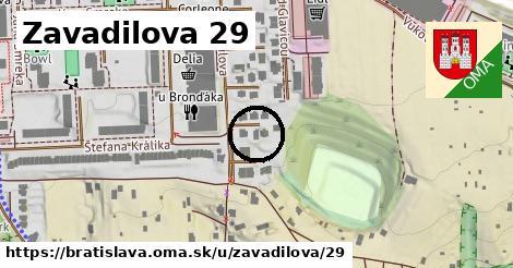 Zavadilova 29, Bratislava