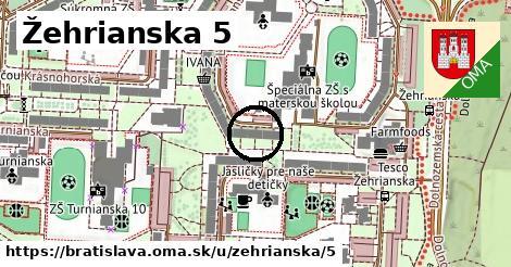 Žehrianska 5, Bratislava