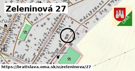 Zeleninová 27, Bratislava