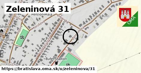 Zeleninová 31, Bratislava