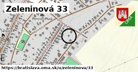 Zeleninová 33, Bratislava