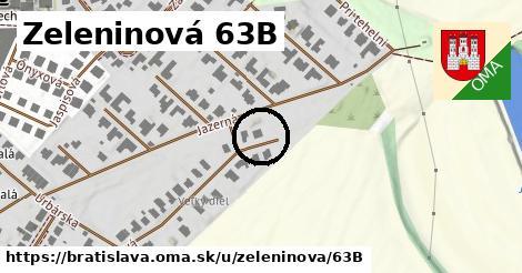 Zeleninová 63B, Bratislava