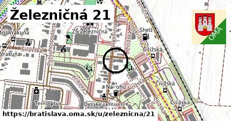 Železničná 21, Bratislava