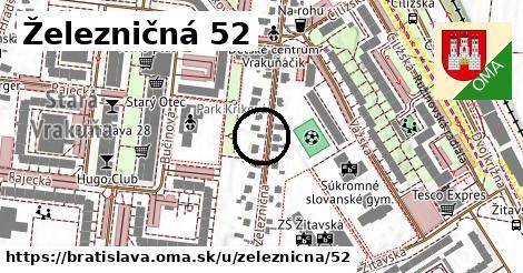 Železničná 52, Bratislava