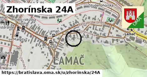 Zhorínska 24A, Bratislava