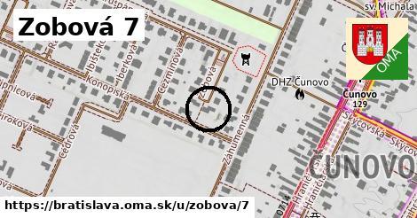 Zobová 7, Bratislava