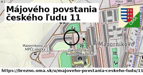 Májového povstania českého ľudu 11, Brezno