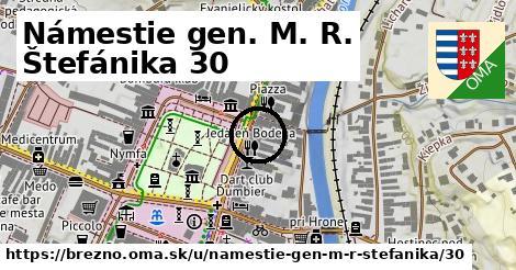 Námestie gen. M. R. Štefánika 30, Brezno
