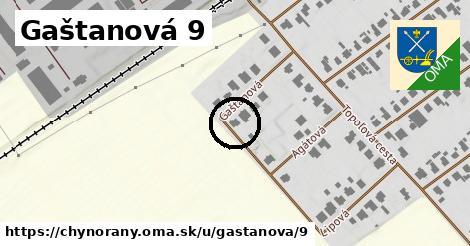 Gaštanová 9, Chynorany