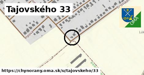 Tajovského 33, Chynorany