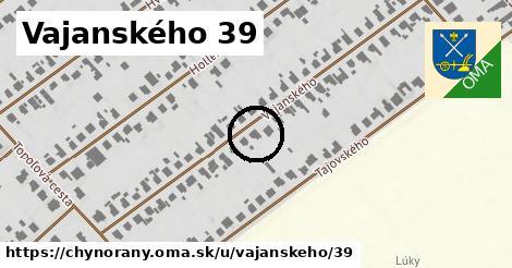 Vajanského 39, Chynorany