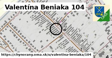 Valentína Beniaka 104, Chynorany