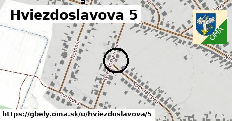 Hviezdoslavova 5, Gbely