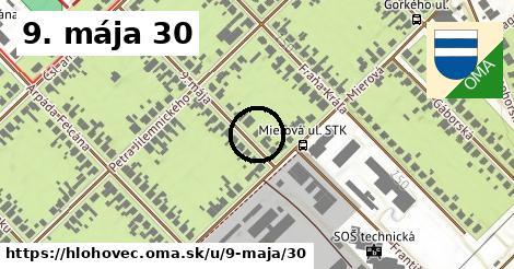 9. mája 30, Hlohovec