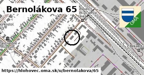 Bernolákova 65, Hlohovec