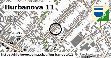 Hurbanova 11, Hlohovec