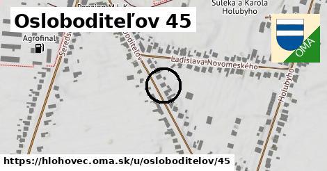 Osloboditeľov 45, Hlohovec