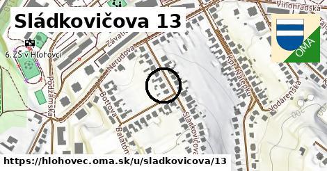 Sládkovičova 13, Hlohovec
