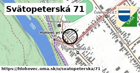 Svätopeterská 71, Hlohovec