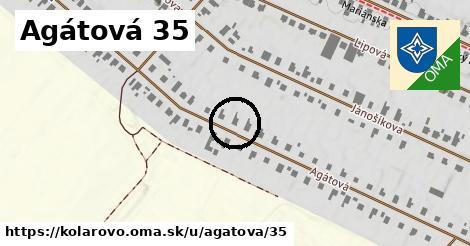 Agátová 35, Kolárovo