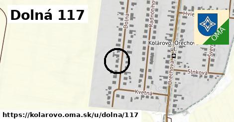 Dolná 117, Kolárovo