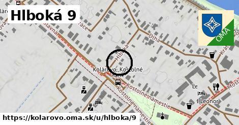 Hlboká 9, Kolárovo