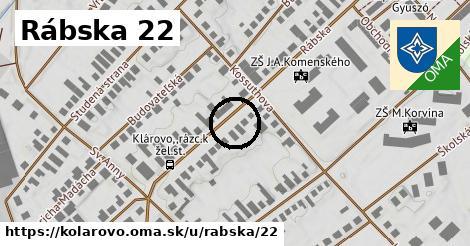Rábska 22, Kolárovo