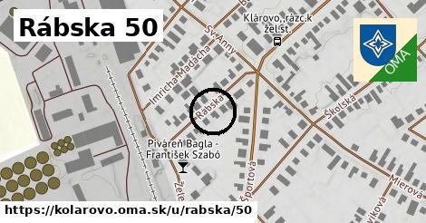 Rábska 50, Kolárovo