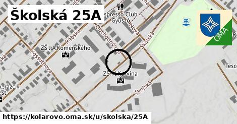 Školská 25A, Kolárovo