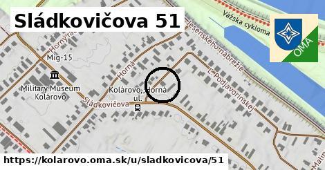 Sládkovičova 51, Kolárovo
